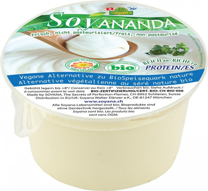 Soyananda bio Speisequark-Alternative Natur 200 g