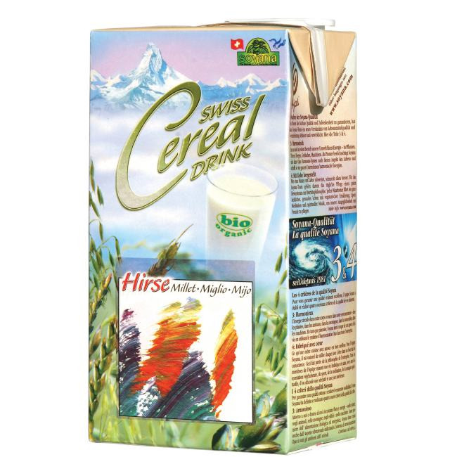 Bio Swiss Cereal-Drink Hirse 1L